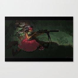 Gun Kid Canvas Print