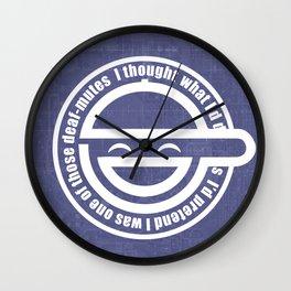 LaughingMan Wall Clock