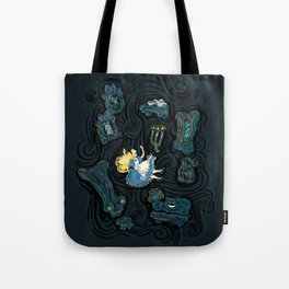 Alice's Fall Tote Bag