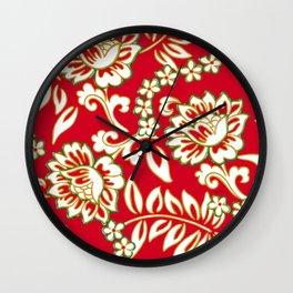 Tropical Eggnog Punch Wall Clock