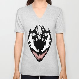 Red Symbiote Unisex V-Neck