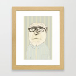 monkey gafapasta Framed Art Print