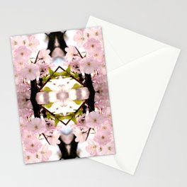 A touch in pink Stationery Cards