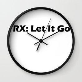 Rx: Let It Go Wall Clock