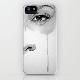 Watercolor Tear iPhone Case