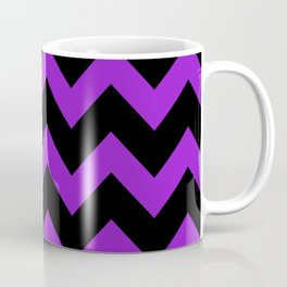 Purple Chevron Coffee Mug