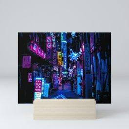 Tokyo's Blade Runner Vibes Mini Art Print