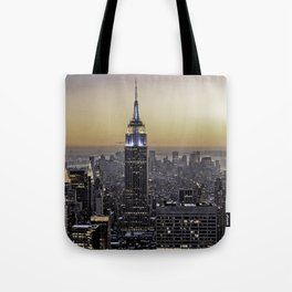 NYC City Scape - New York Photography Tote Bag