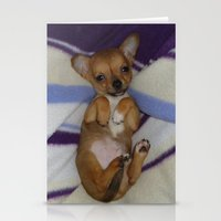 chihuahua Stationery Cards featuring chihuahua by Lab&co