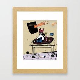 Still rollin' Framed Art Print