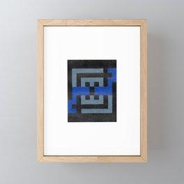 maze Framed Mini Art Print