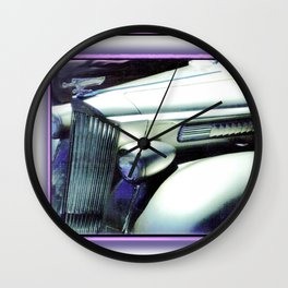 SILVER LIMO Wall Clock