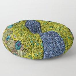 Mr. Pavo Real Floor Pillow