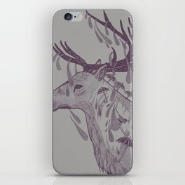 Rain Deer iPhone Skin