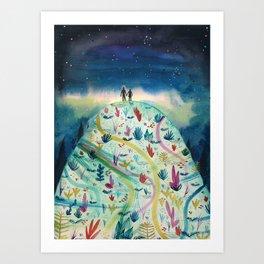 Love and Magic Art Print