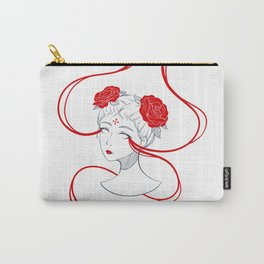 Rose Buns Carry-All Pouch