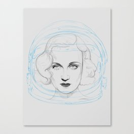 Space Lombard Canvas Print