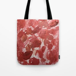 Chaotic Rose Patch Tote Bag
