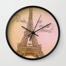 Mort Vintage Wall Clock