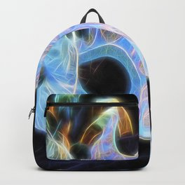Glowing Mask Of Intrigue Backpack