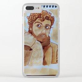 Oscar Isaac - Inside Llewyn Davis (III)  Clear iPhone Case