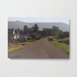 Suburbia Metal Print