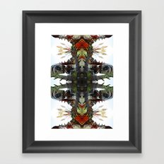 OR/WELL: Robotman VS Bird V2 Framed Art Print