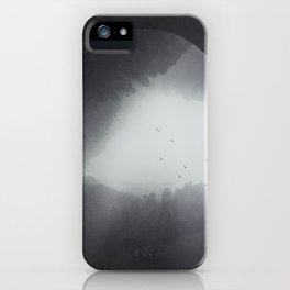 Spaces VIII - Singularity iPhone Case