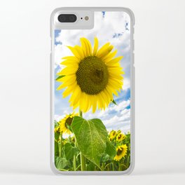 Heart of Tuscany Clear iPhone Case