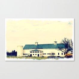 Hobbs Farm & Jericho Canvas Print