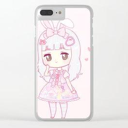 princess peachie Clear iPhone Case