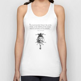 The Most Merciful Thing Unisex Tank Top