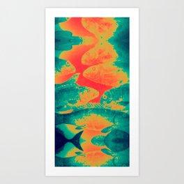 Techno Species Art Print