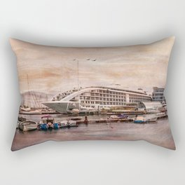 Sunborn Yacht Hotel, Gibraltar Rectangular Pillow