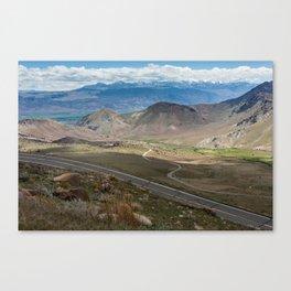 Monitor Pass Canvas Print
