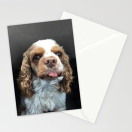 Fiona - the wonder dog Stationery Cards