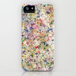 Abstract Artwork Colourful #7 iPhone Case