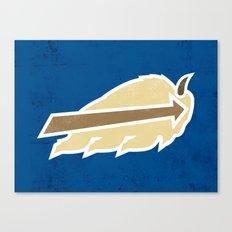 Buffalo Sky Bisons Canvas Print