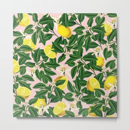 Lemonade #society6 #decor #buyart Metal Print