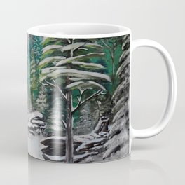 Foxes in The Forest Coffee Mug