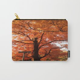 Fall in Pine Grove Carry-All Pouch