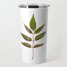 Leaf Botanical Print Travel Mug