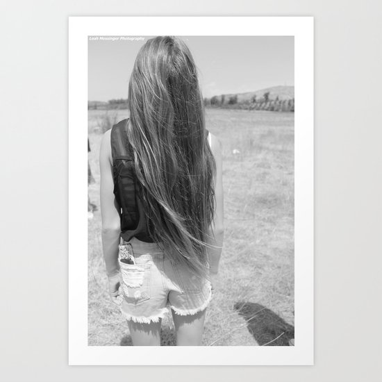 Perfect Hair Art Print