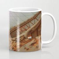 brooklyn bridge Mugs featuring Brooklyn Bridge  by S|Tarah