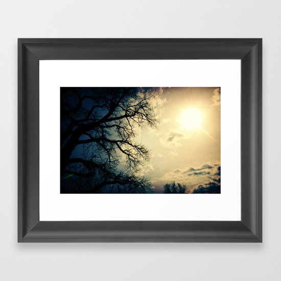 hard to impress Framed Art Print