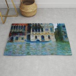 """Claude Monet """"Le Palais Dario"""" Rug"""