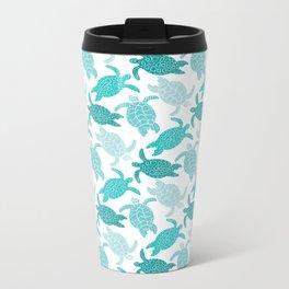 Sea Turtles Metal Travel Mug