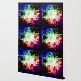 Rainbow Galaxy Sacred Geometry : Stellated Icoshadron Wallpaper