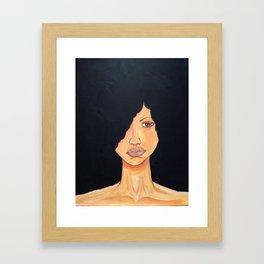Melanin Goddess 3 Framed Art Print