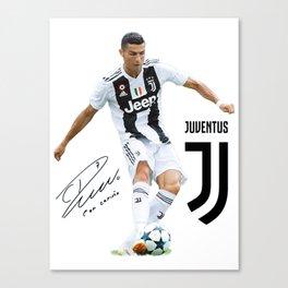 Ronaldo Juventus 2018 Canvas Print